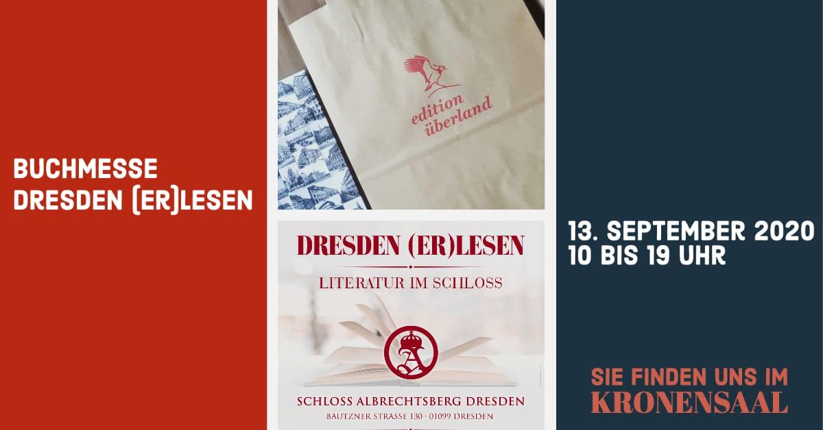 Dresden (er)lesen 2020 am 13.9.2020 im Schloss Albrechtsberg