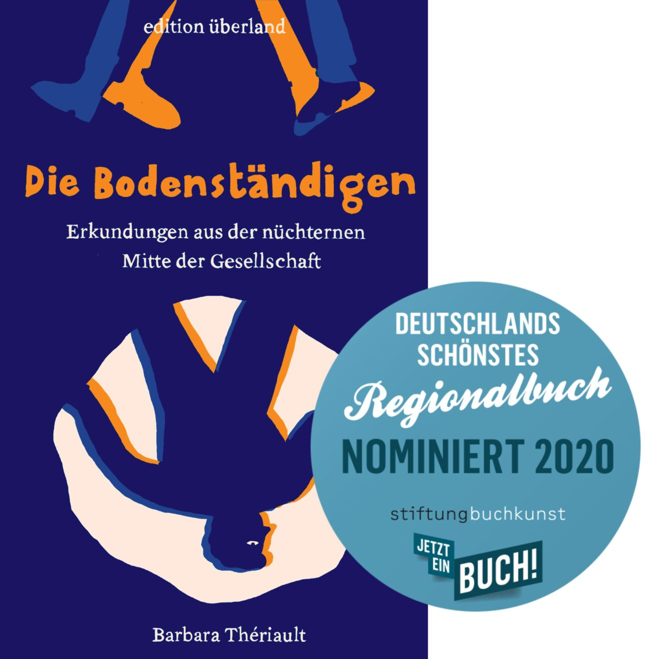 »Die Bodenständigen« von Barbara Thériault – nominiert als Deutschlands schönstes Regionalbuch 2020